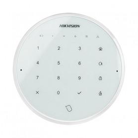 Hikvision DS-PKA-WLM-868 clavier et lecteur de badge sans fil blanc pour alarme Hikvision