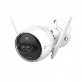 Caméra Wi-Fi Full HD EZVIZ C3X avec IA double objectif vision couleur de nuit