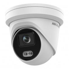 Caméra IP 4MP H265+ ColorVu et acuSense 2.0 Hikvision DS-2CD2347G2-L vision couleur de nuit 30 mètres