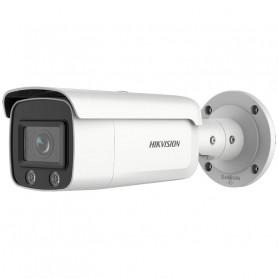 Caméra IP 4MP H265+ ColorVu et acuSense 2.0 Hikvision DS-2CD2T47G2-L vision couleur de nuit 60 mètres