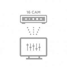 Configuration à distance NVR 16 caméras