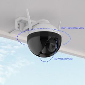 Caméra de surveillance motorisée Wi-Fi Full HD EZVIZ C8C avec IA et vision couleur de nuit